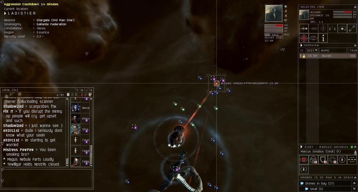 Bringing the High Sec Back | EVE Online - EVE-Pirate com